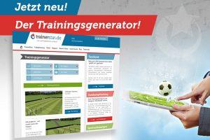 Der Trainingsgenerator von trainerstar.de